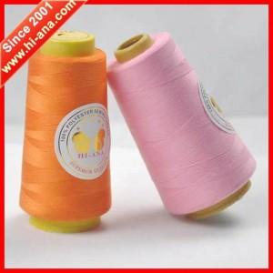100% polyester spun yarn 303 2000Y