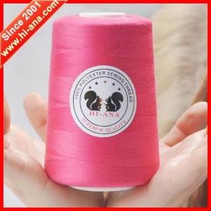 100% spun polyester sewing thread 402 10000yds