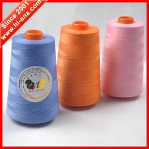 100% spun polyester sewing thread 402 120g