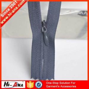 3# invisible nylon zipper ha-0201-0119