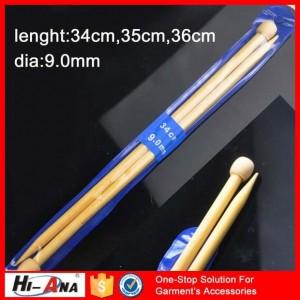 bamboo knitting needles ha-0806-a009.9