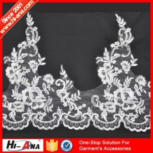 bridal lace fabric wholesale ha-2004-0051 28CM
