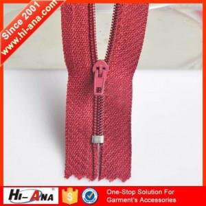 cfc nylon zipper exporter ha-0201-0071