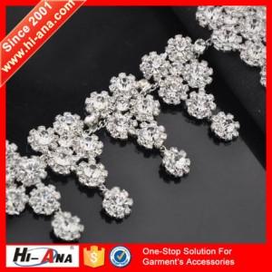 crystal rhinestone trim ha-1213-m128