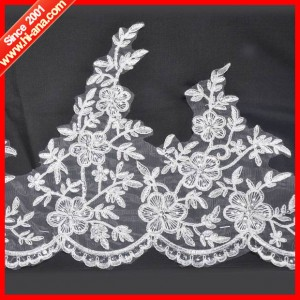 embroidery french lace ha-2004-0076 28CM