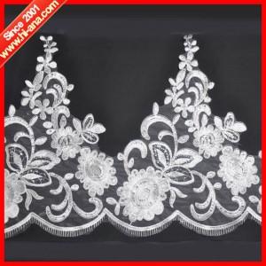 embroidery lace applique ha-2004-0077 44CM