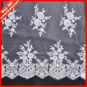 embroidery lace fabric ha-2004-0059 135CM