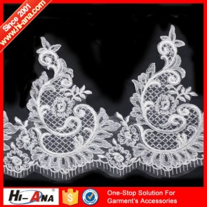 embroidery lace sequin pearl ha-2004-0073 24CM