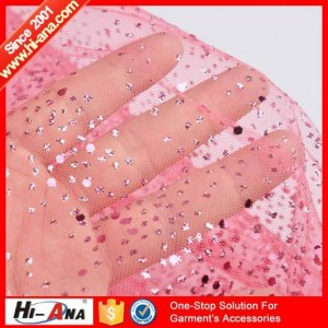 fabric with glitter