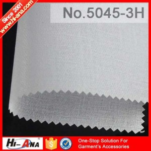 fusible fleece interlining 5045-3H