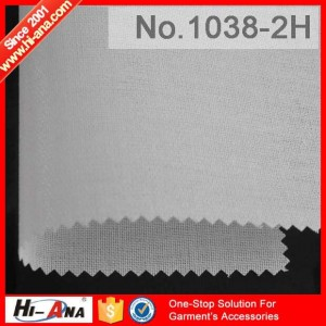 fusible interlining 1038-2H
