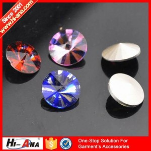 glass rhinestone ha-1220-B007
