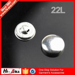 wholesale aluminum cover buttons