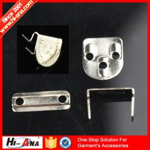 trousers metal hook button