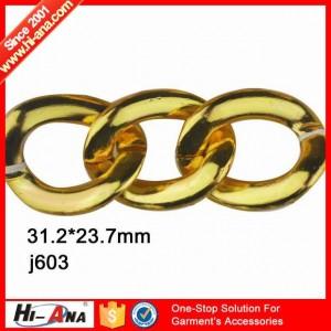 decorative metal chain