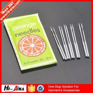 orange needles