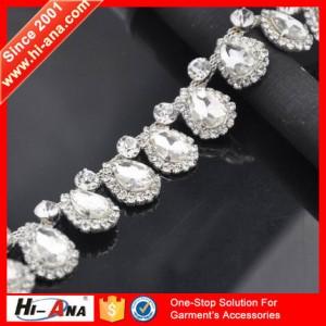 crystal rhinestone chain trimming