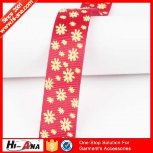 flame print ribbon