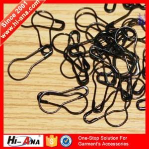 black safety pin
