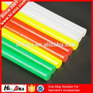 color hot melt glue stick