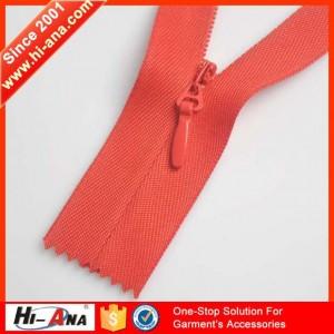 5 invisible zipper