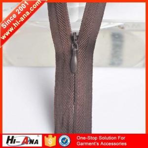 double sided zipper