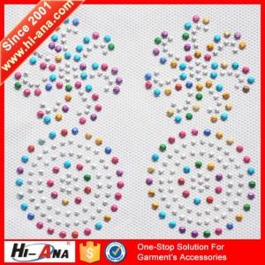 hot fix rhinestone motif ha-1302-0051
