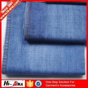 jean fabric roll