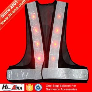 led light reflective vest