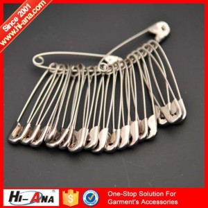 metal safety pin
