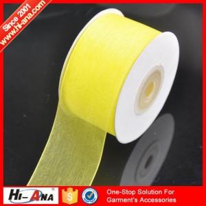 organza ribbon ha-0408-0126 x12