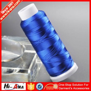 polyester embroidery thread 120D2 35G