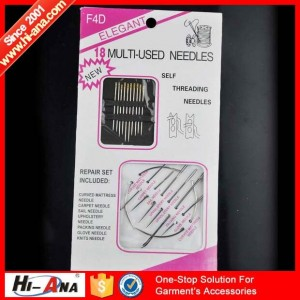 shoe sewing needle ha-0802-0104