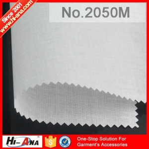 woven fusible interlining 2050M