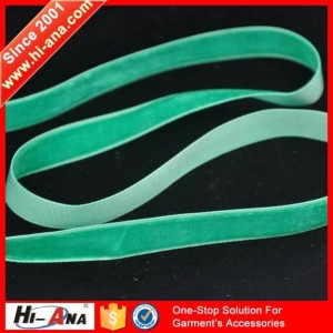 Elastic velvet ribbon ha-0405-0166
